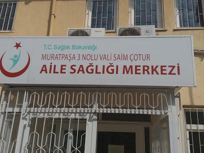 T.C. Sağlık Bakanlığı Muratpaşa 3 Nolu Vali Saim Çotur Aile Sağlık Merkezi